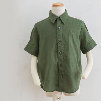 new sleeve shirts カーキ(160cm)