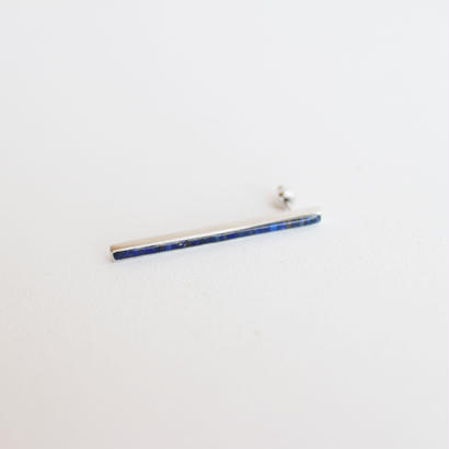 Rice〈SIDE〉lapislazuli LONG earring