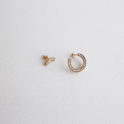 Rice ● pearl earring 1/4