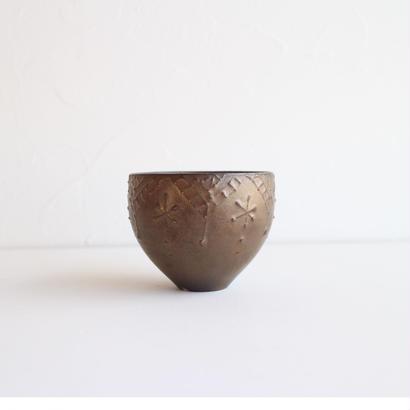 前田麻美 ブロンズ釉 イッチンカップ