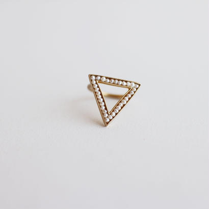 Rice ▲ pearl ring (M)