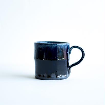 ルリ釉マグカップ