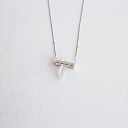 Rice〈INSIDE〉quartz necklace