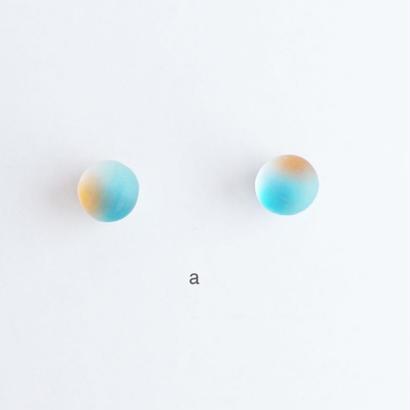 matsurica glass【pebble】ピアス