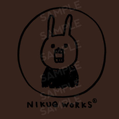 "[ud_005] DLデータ PC用壁紙 ""UH THE RABBIT"" 【nigaoe_brown】"