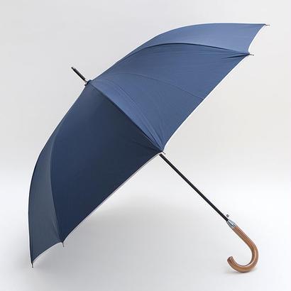 熱中症対策「男の日傘」雨にも強い! 65cm/長傘 晴雨兼用 [H743BL/N]