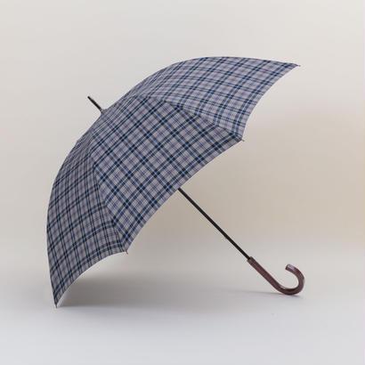 【日本製】NEWYORKER 先染めハウスタータン65㎝/紳士長傘【NY3412-01HO/NY3412-03GL】