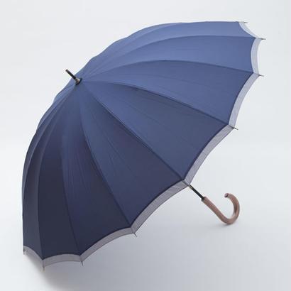 風につよい無地のシックな傘 (全3色) 65cm/長傘 [OSC005 BL/NE/KH]