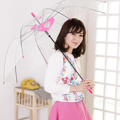 大判ジャンプ式 渋谷まちけんビニール傘【ハート】 60cm/長傘 [NM60JC2]