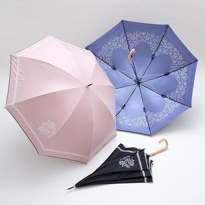 さくらの傘 58cm/長傘 雨晴兼用 [OSC043 BL/N/P]