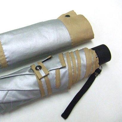 -12℃清涼 「男の日傘」晴雨兼用傘 ミニ傘 55cm/折りたたみ傘 [OST125 BL/N/BE]