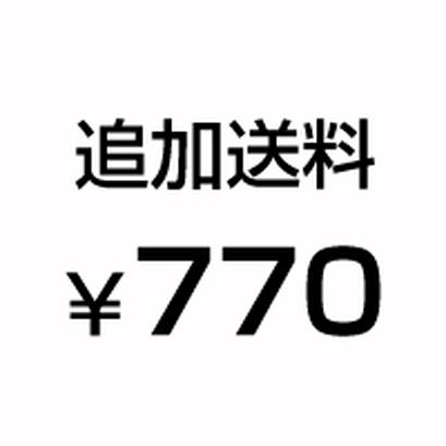 追加送料770円