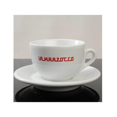 La Marzocco Latte Cup & Saucer SET(LINEA LOGO)7oz