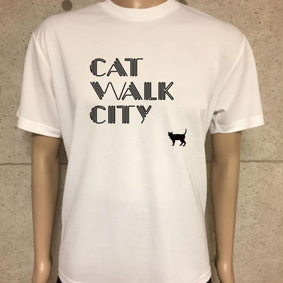 CAT WALK CITY (WHITE/BLACK)