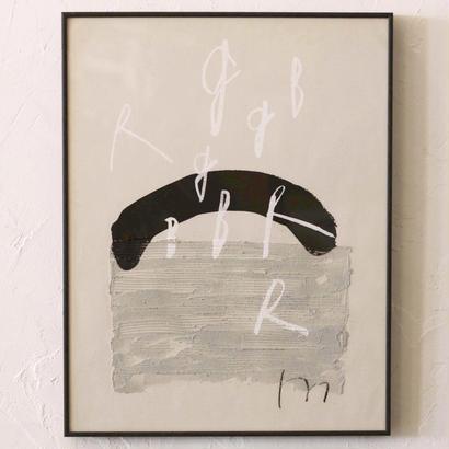 ムツロマサコ「黒が白になる」