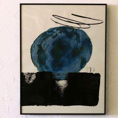 ムツロマサコ「青い青い海の果て」