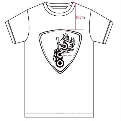 新作Tシャツ  [ピックver]  白