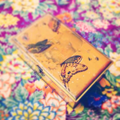 Vintage Tin 13蝶々