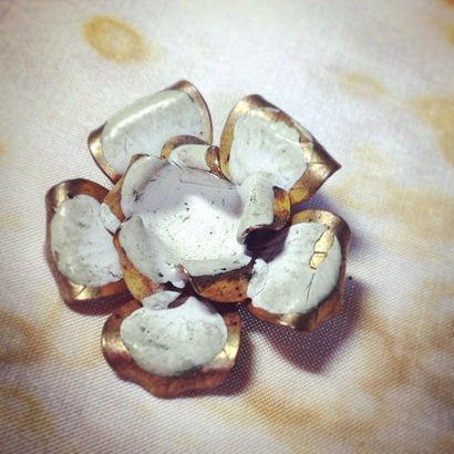 Vintage Earring  花ひとつ、
