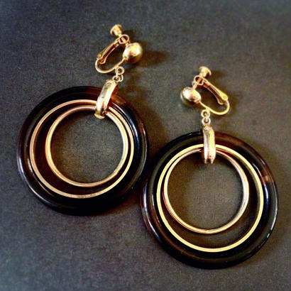 Earring / Pierce「べっ甲風な」