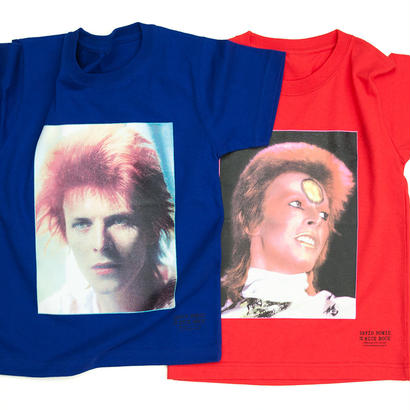 DAVID BOWIE by MICK ROCK  KIDS TEE