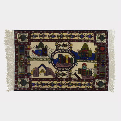 OUTTA RUGS #67 'Multicolored Pilgrim'