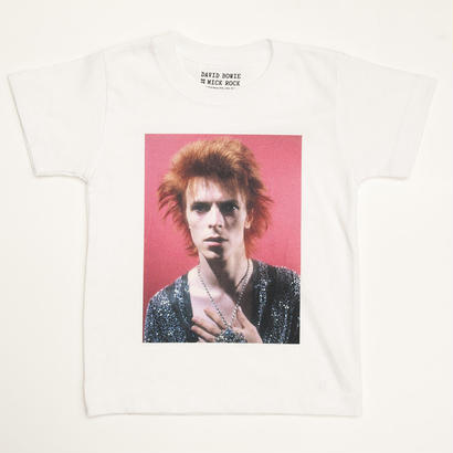 DAVID BOWIE by MICK ROCK  in Kyoto KIDS TEE
