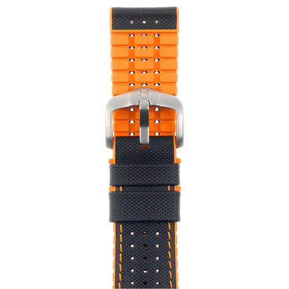 Option Belt-Rubber Robby Orange
