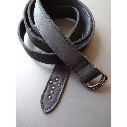 "Diet Butcher Slim Skin ""leather  long belt """