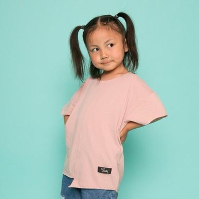 ViiDAkids アシンメトリーT-shirt (pink)