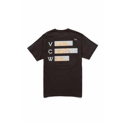 VCW  × WOOD DW T-SHIRT - BLK