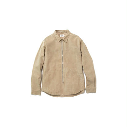 SUEDE SHIRT - SN.WHT