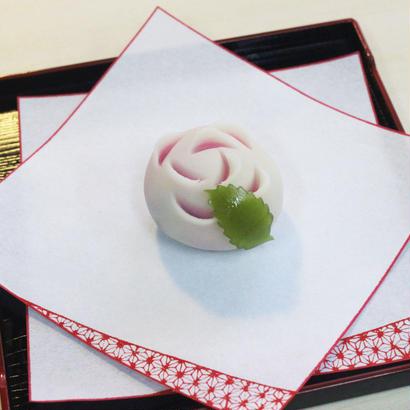 おうちで楽しむ ねりきり☆材料セット/ばら(桃)+ばら(黄)