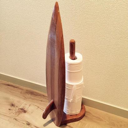 サーフボード型 トイレットペーパーホルダー