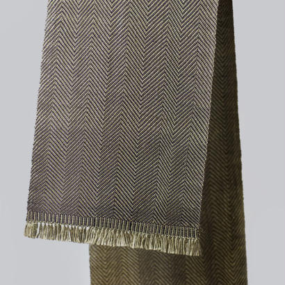 SCARF  -antique gold-