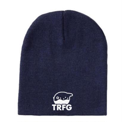 TRFG ニットキャップ ネイビー