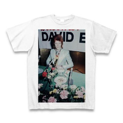 「DAVID BOWIE」ver.44ロックTシャツ WATERFALLオリジナル ※完全受注生産品 S/ M/ L/ XL
