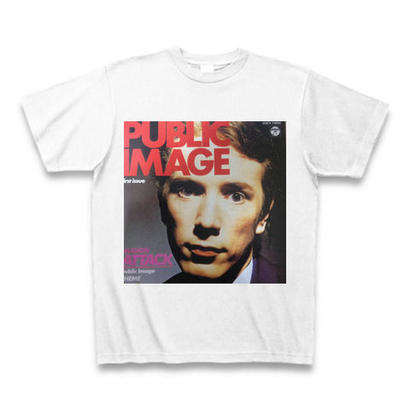「PUBLIC IMAGE LIMITED」ロックTシャツ WATERFALLオリジナル ※受注生産品 S/M/L/XL