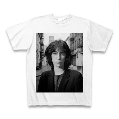 「Patti Smith」ver.6パンクTシャツ WATERFALLオリジナル ※完全受注生産品 S/ M/ L/ XL