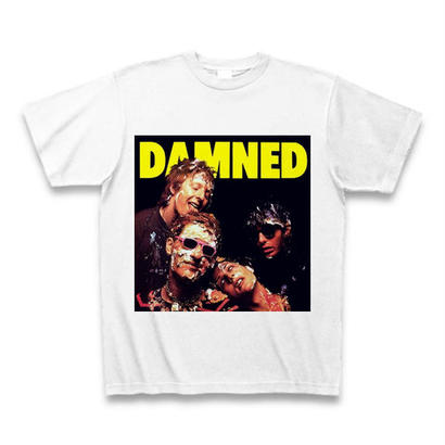 「THE DAMNED」ver.2パンク40周年Tシャツ WATERFALLオリジナル ※完全受注生産品 S/ M/ L/ XL
