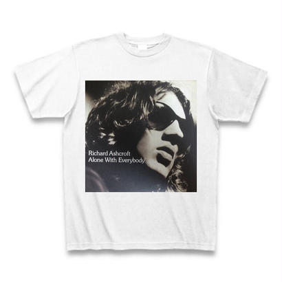 「RICHARD ASHCROFT」 ロックTシャツ WATERFALLオリジナル ※完全受注生産品 S/ M/ L/ XL