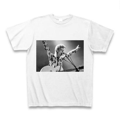 「DAVID BOWIE」ver.30ロックTシャツ WATERFALLオリジナル ※完全受注生産品 S/ M/ L/ XL