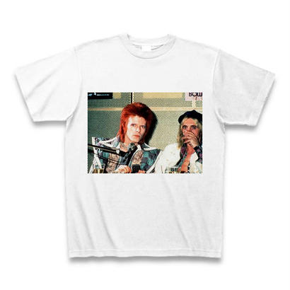 「DAVID BOWIE」ver.45ロックTシャツ WATERFALLオリジナル ※完全受注生産品 S/ M/ L/ XL