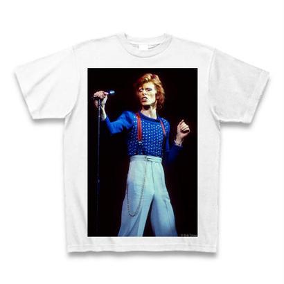 「DAVID BOWIE」ver.43ロックTシャツ WATERFALLオリジナル ※完全受注生産品 S/ M/ L/ XL