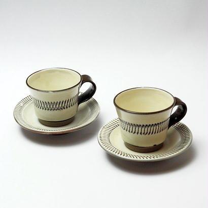 小鹿田焼 コーヒーカップ        2個セット