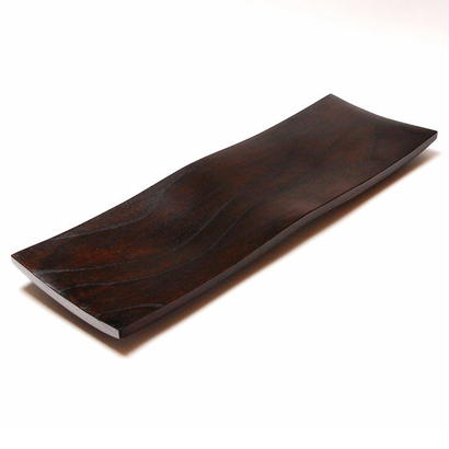 木の器 波皿