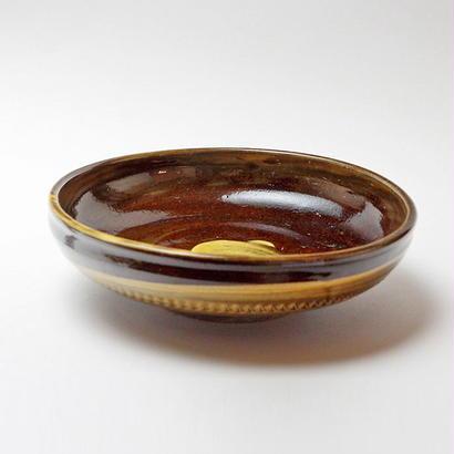 小鹿田焼 6寸切立鉢