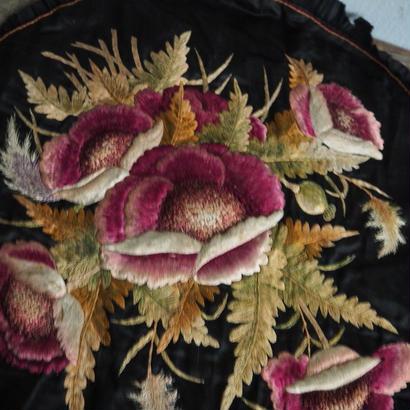 botanical 手刺繍クロス
