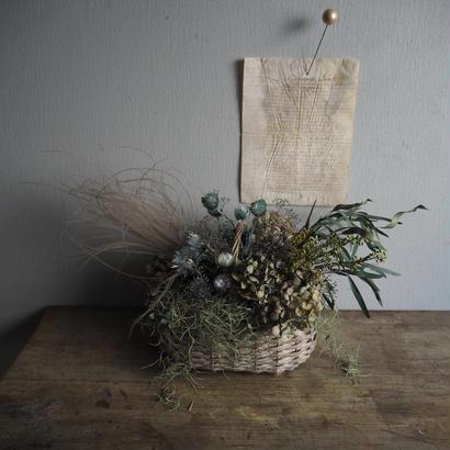 スモーキー basket arrangement