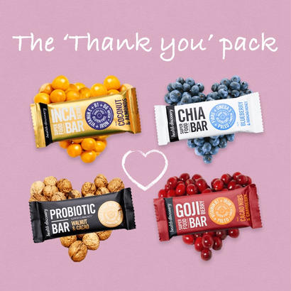 The Thank You Pack - 4 Bar Gift Pack (送料無料4本入りギフトセット )